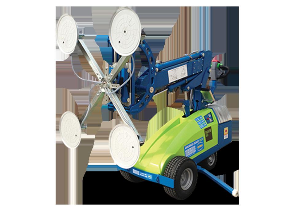 Winglet 600 Galzing Robot