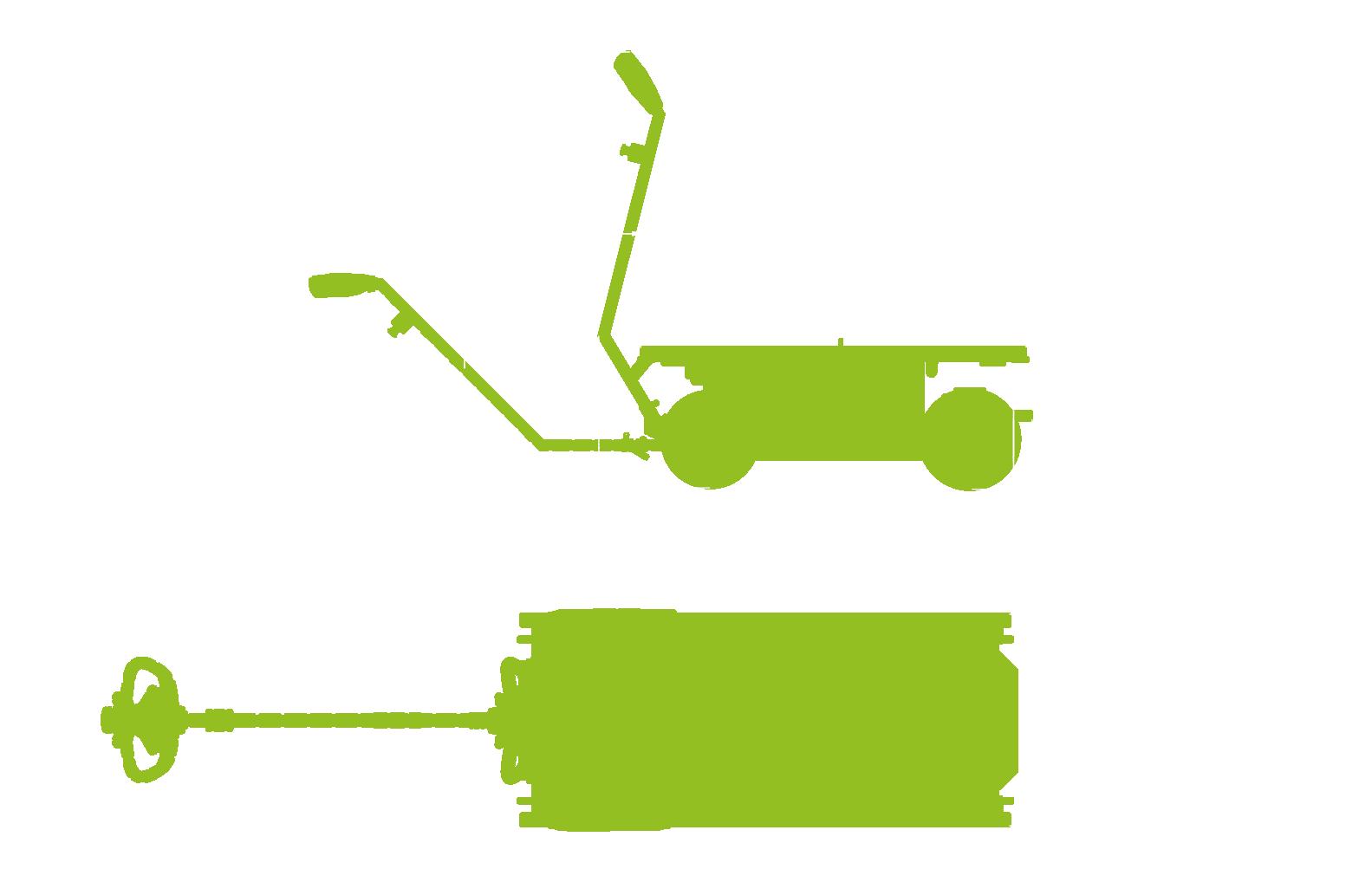 Ergomover go-transport-trolley-dimensions