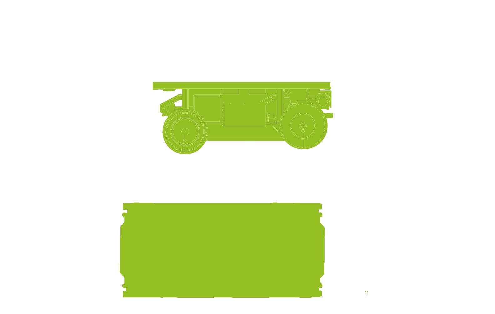 Ergomover Wireless-transport-trolley-dimensions